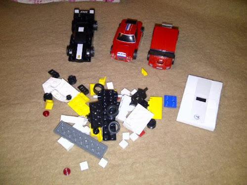 Siapkan Set Ke-6 Kereta Mainan Lego Ferrari Shell