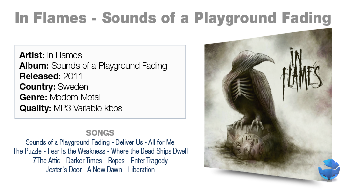 in flames sounds of a playground fading artwork