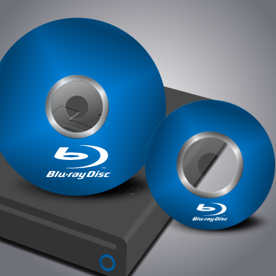 Image credit:  IconTexto Blu-ray Discs by Bruno Maia CC License Attribution-Noncommercial 3.0.