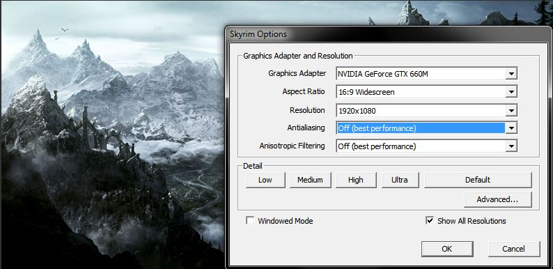 RealVision ENB Anti-aliasing difficulty.. - The Elder ...