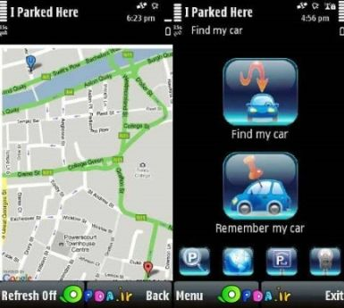 Staron IParkedHere v1.02(5) S60v3 S60v5 Full Unsigned By POPDA {Find Your parked car !}
