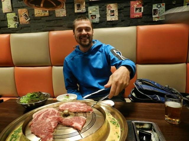 Barbecue Coréen pour Nouvel An