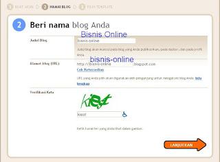 beri nama blog