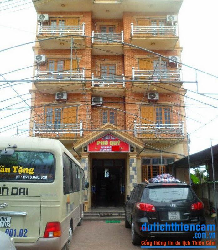 Khách san Phú Quý Thiên Cầm