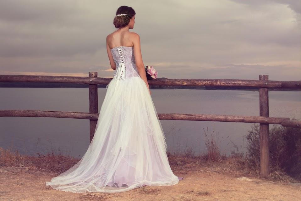 Vestido de novia Malva