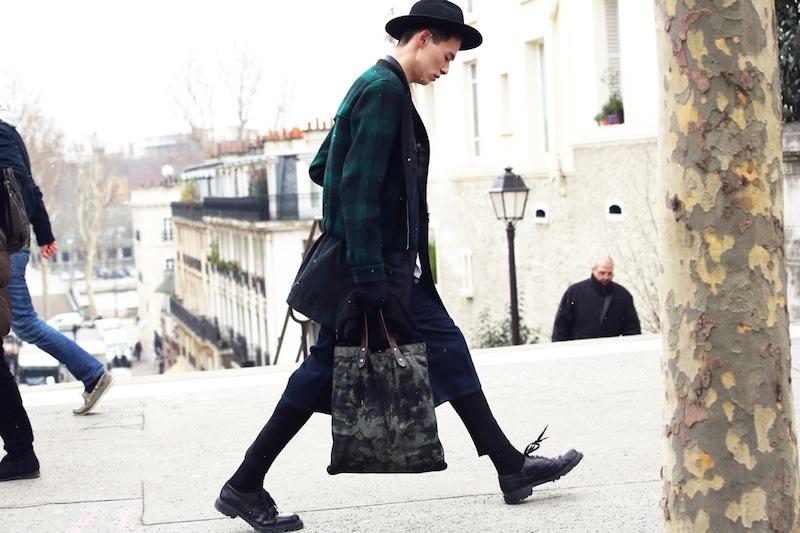 *Paris Fashion Week Fall/Winter 2013 Street Style:Nam巴黎時裝週街拍! 11