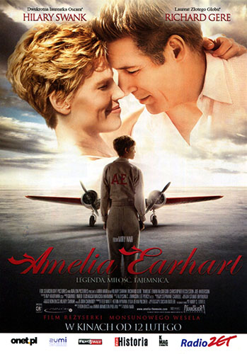 Ulotka filmu 'Amelia Earhart (przód)'
