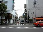 おかめ団子のあった<br>永坂上の飯倉片町角
