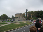 Approaching the Museum of Art which also has...