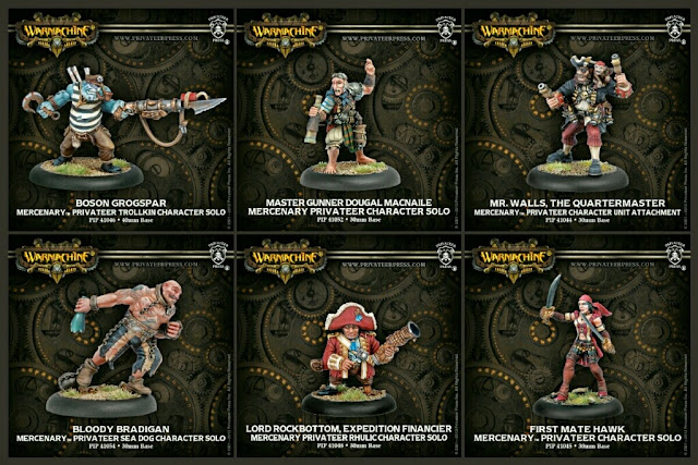 solos piratas de Warmachine