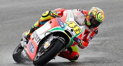 Valentino Rossi Silverstone 2012