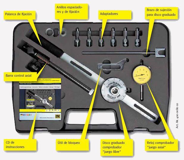 embragues viaweb descripci n de las herramientas especiales para el volante bimasa. Black Bedroom Furniture Sets. Home Design Ideas
