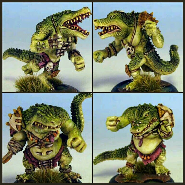 Saurios Greebo Miniatures I