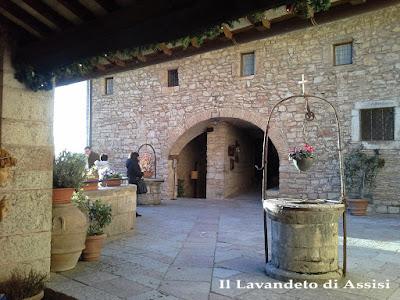 Assisi panorama Eremo delle Carceri