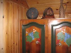 Dormitorul VIȚĂ CU STRUGURI