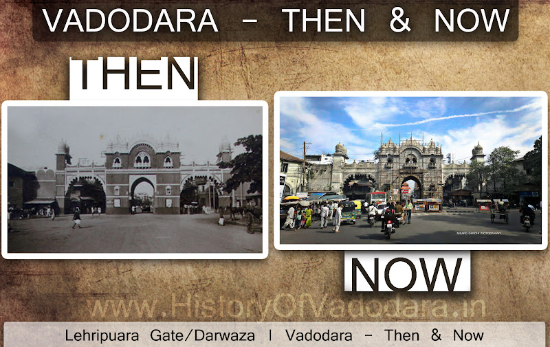 Leheripura Gate - Then & Now