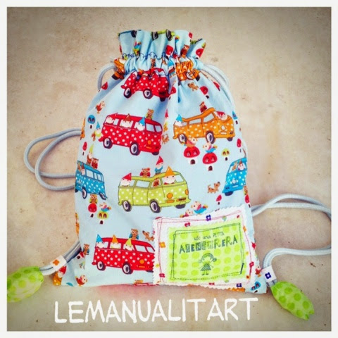 Bolsa mochila para ninos aprender manualidades es - Manualidades facilisimas para ninos ...