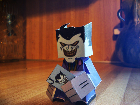 The Joker Paper Toy
