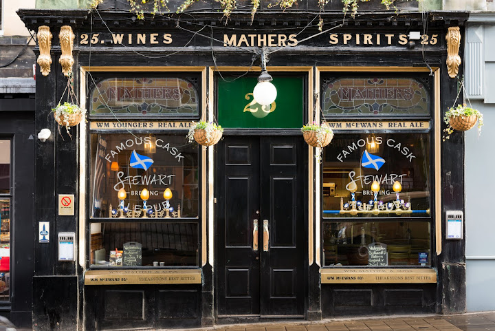 Pubs of Edinburgh and Glasgow: Mathers