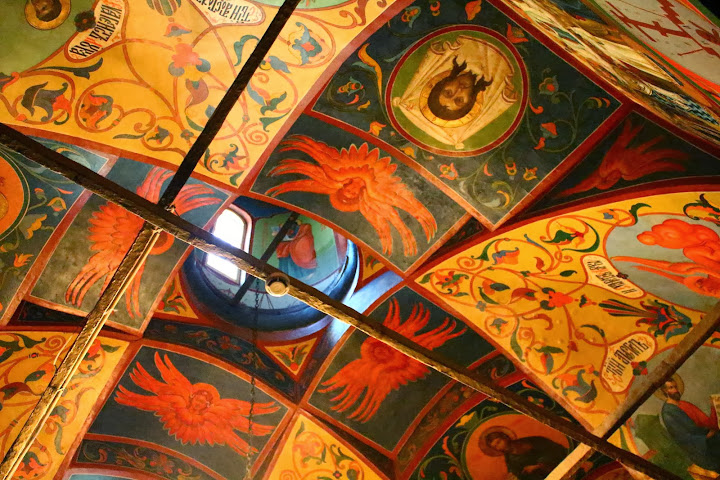 St Basil's Cathedral ceiling