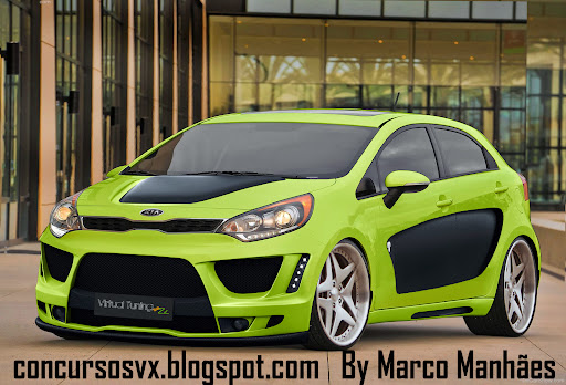 Syaiful Dev Kia Rio Hatchback Body Kit Cool