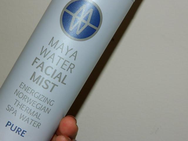 mayawater facial mist