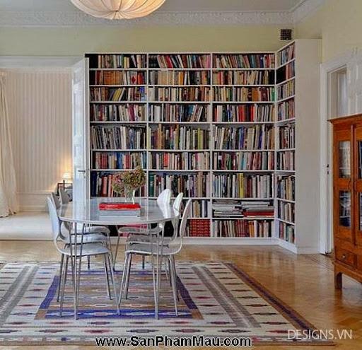 Các mẫu thiết kế nội thất phòng đọc sách P1-12