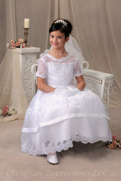 Christian Expressions Llc First Communion Dresses Christian