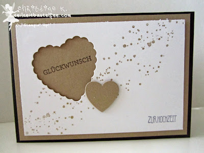 stampin up, wedding, hochzeit, hearts a flutter, gorgeous grunge, eins für alles, and many more