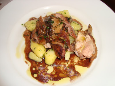 sauteed duck breast marinated duck breast with sauteed potatoes ...