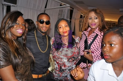 Banky W, Tiwa Savage, D banj, Nkiru Anumudu ,Toke Makinwa , Lynnxx andmore at the Launch of the Banky & Tiwa Show .