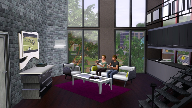 De sims 3 luxe accessoires pingu ntech for Sims interior designs 1
