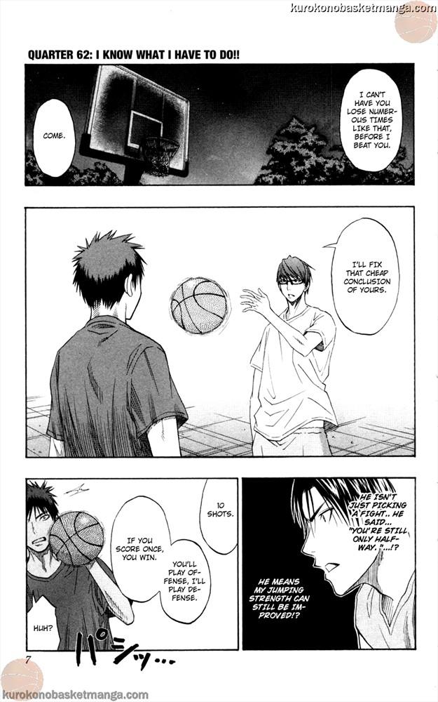 Kuroko no Basket Manga Chapter 62 - Image 5