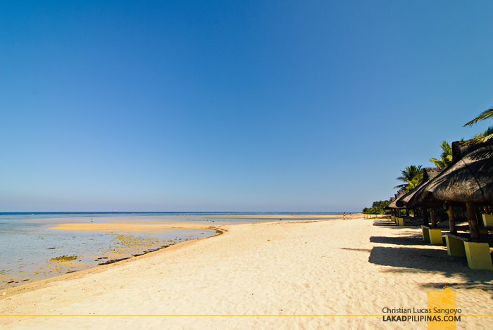 White Sand Beach at Bolinao's Puerto del Sol