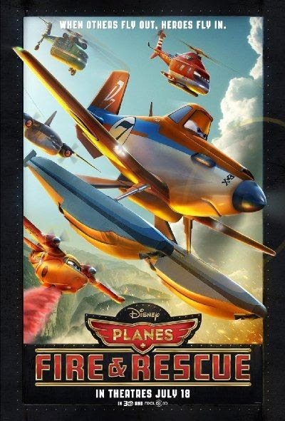 Poster Of English Movie Planes: Fire & Rescue (2014) Free Download Full New Hollywood Movie Watch Online At Alldownloads4u.Com