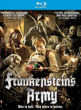 Filme Poster Frankenstein's Army BRRip XviD & RMVB Legendado