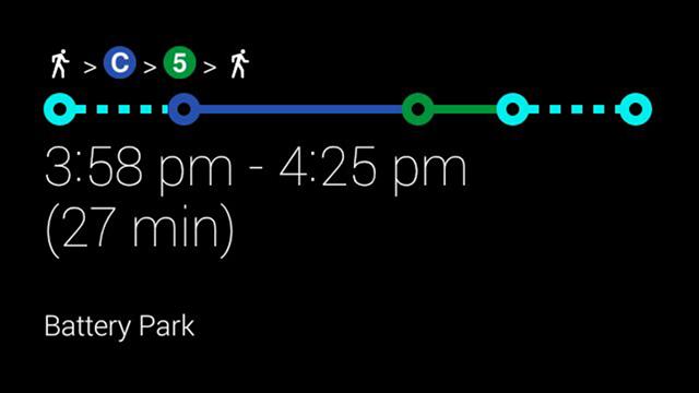 Google Glass Transit