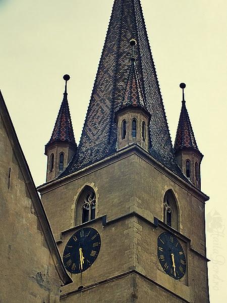 turn biserica evanghelica sibiu