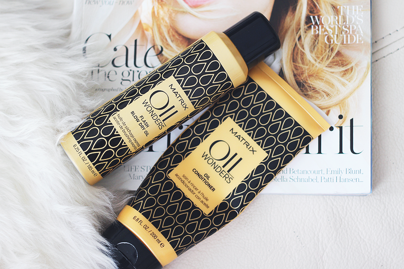 love love love it: Matrix Oil Wonders blow dry oil & conditioner