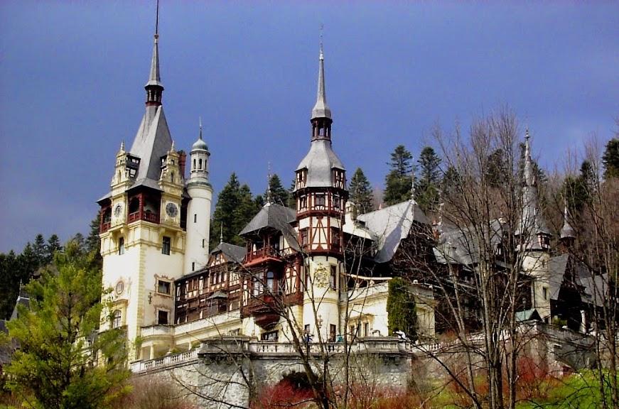 Dragulj južnih Karpata - dvorac Peleš