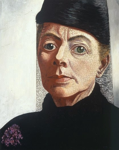 Charley Toorop - Self-portrait 1943 - 1944