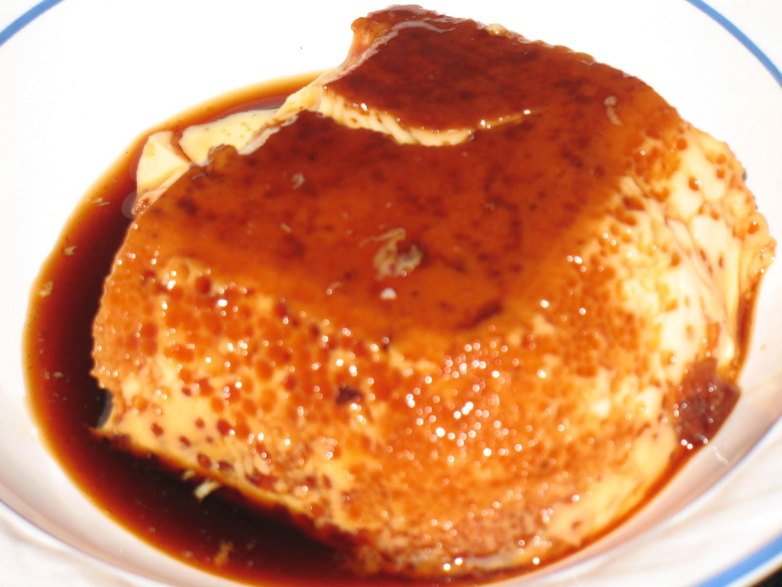 Hierbabuena y pimienta flan de huevo al ba o mar a - Envasar al bano maria ...