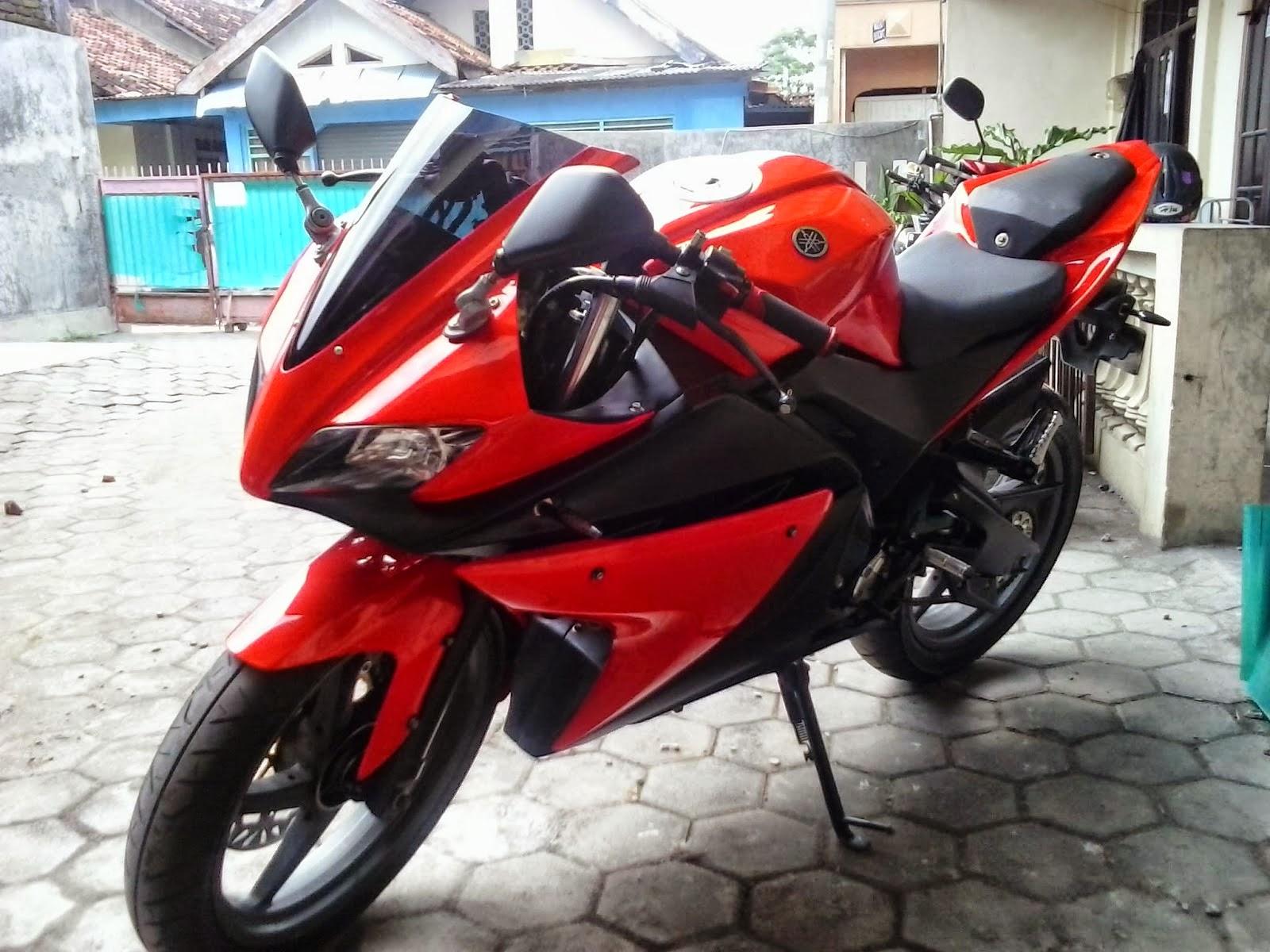 Modifikasi New Vixion Jadi R125