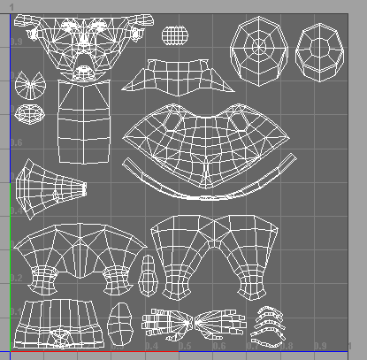 Another UV mapping image