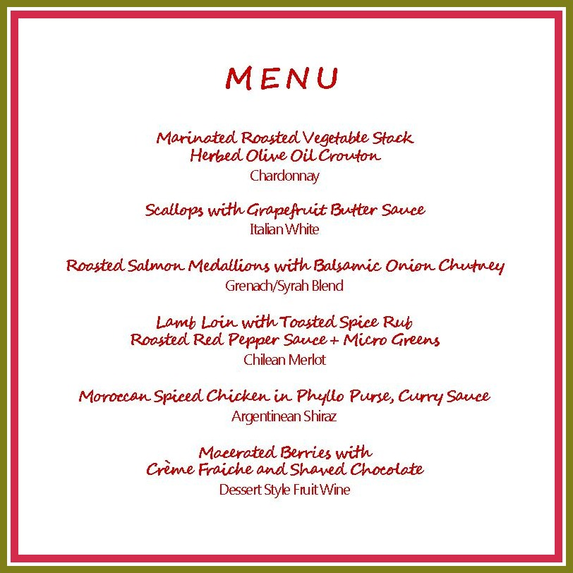 Elegant Christmas Dinner Party Menu Ideas MEMES