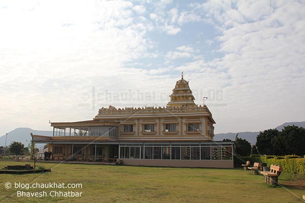 Panduranga Kshetra - Hadshi Temple near Pune - Perspective view