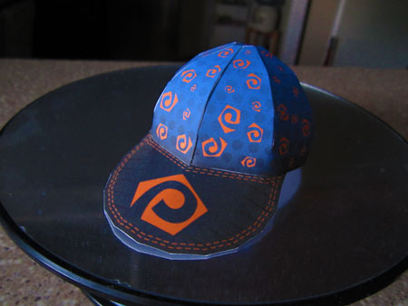 Make Your Own Paperkraft.net Baseball Cap