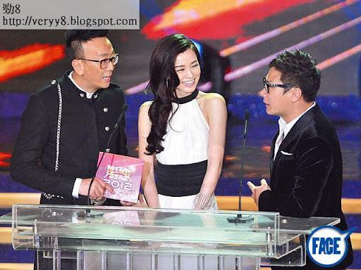 冇錢嘉賓 <br><br>上年 TVB台慶頒獎禮, JM冇錢落袋都照去做嘉賓 keep人氣。《蘋果日報》圖片