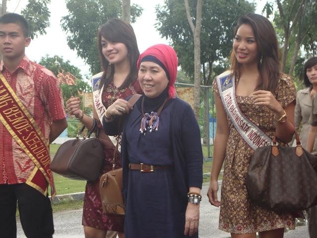Kunjungan Putri Pariwisata Indonesia ke SMAN 3 Unggulan Kayuagung