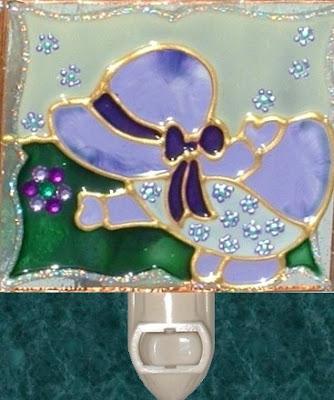 lavender bee bonnet